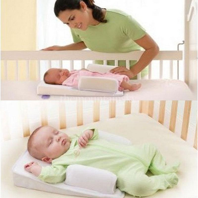 Sleep Fixed Positioner Baby Infant Prevent Flat Head